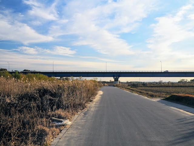 荒川自転車道 荒井橋