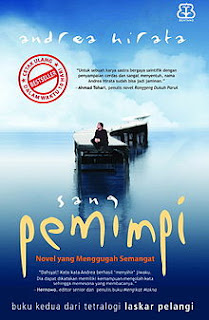 Cover Novel Sang Pemimpi