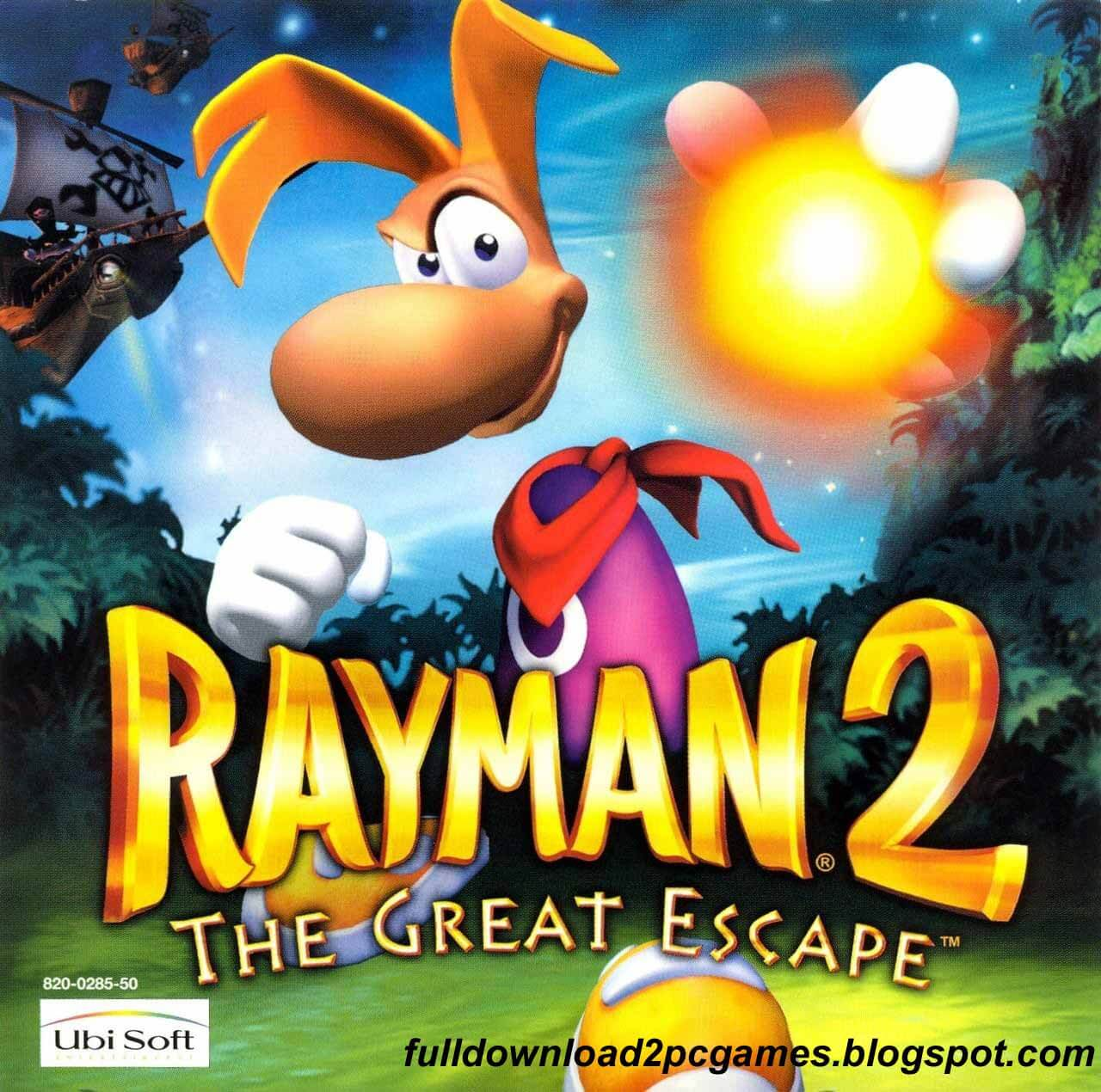 Rayman 2 the great escape free download pc game   game 1 top.