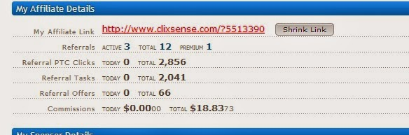 Pembayaran Clixsense Yang Tak Pernah Scam