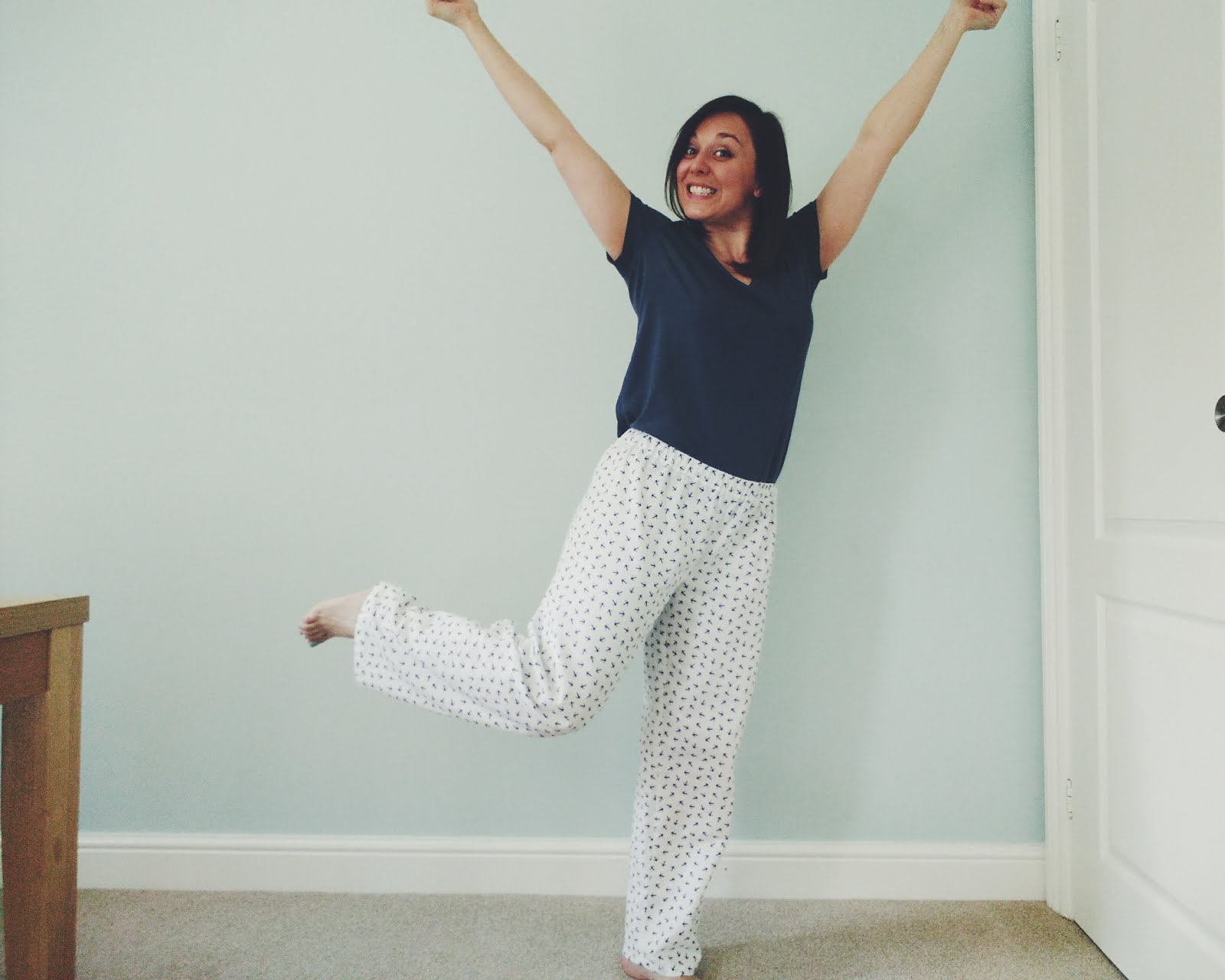 Ultimate Beginners Day Sewing Package with The Thrifty Stitcher pyjamas