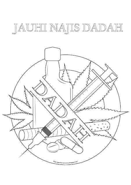 Poster Jauhi Najis Dadah