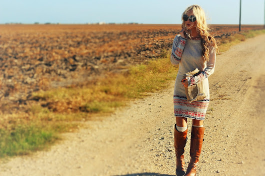 A Fall Favorite: The Sweater Dress
