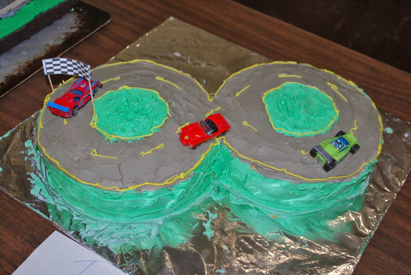 """Cub Scout """"Race Day"""" Cake Contest"""
