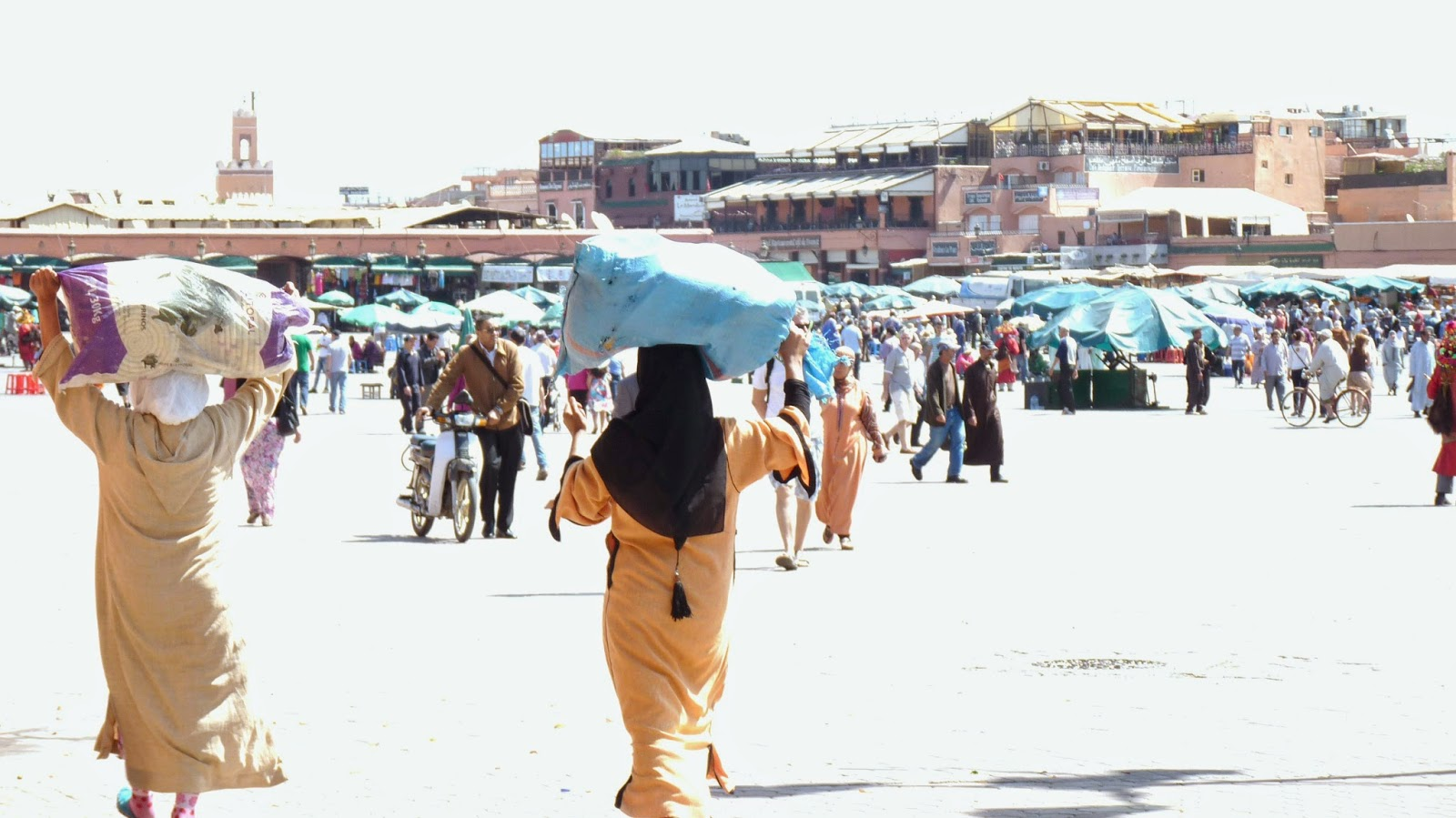 plaza Jamaa El Fna - Marrakech