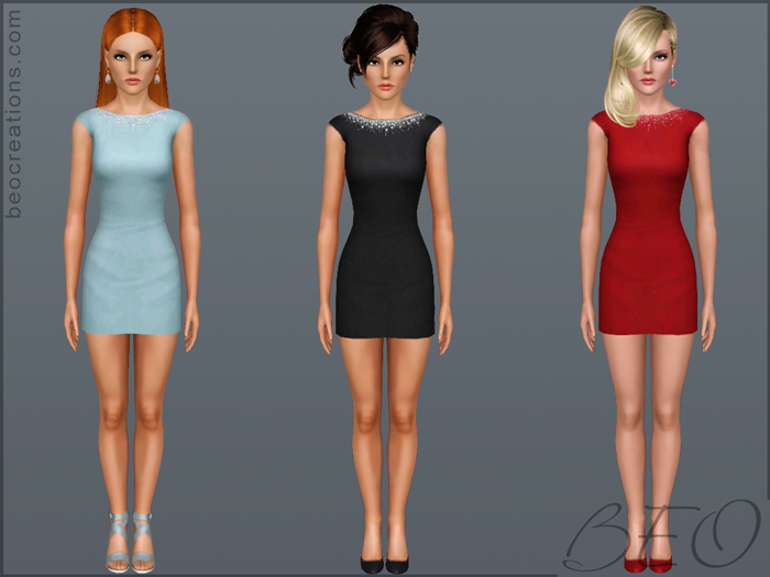 My Sims 3 Blog: Two New Dresses By BEO