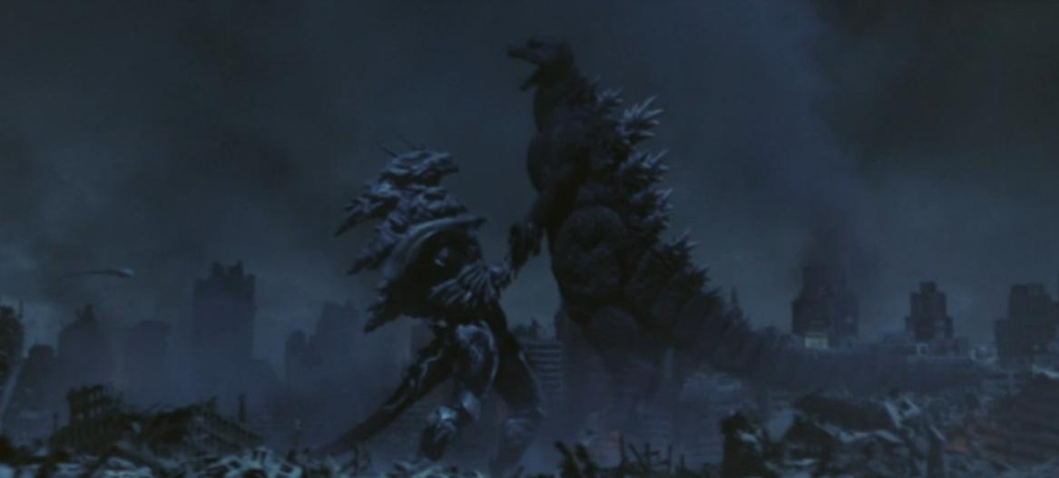 Godzilla Final Wars - 5-1 Monster X Grabs Godzilla pngGodzilla Final Wars Monster X Vs Godzilla