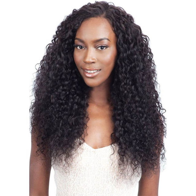 7A 360 Lace Frontal Wig Brazilian Hair Deep Wave Curly–Price:$108.88 /piece (15%off)