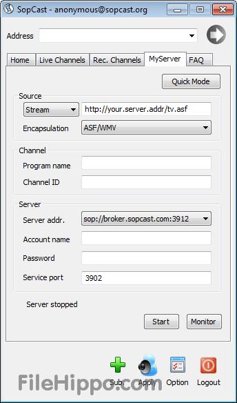 Download sopcast 3. 8. 3 | technical softchamp. Com.