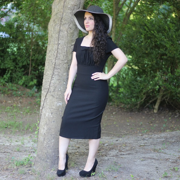 Black Retro Dress