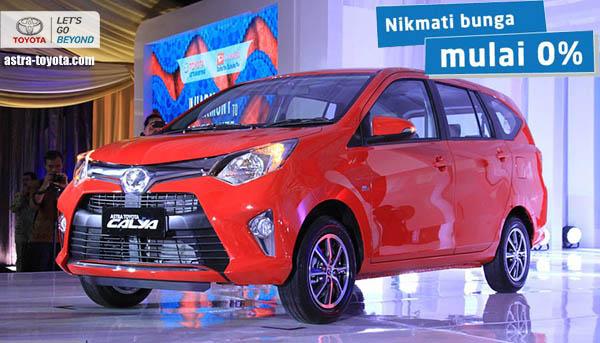 Harga Kredit dan Diskon Toyota Calya 2016 di  Jakarta, Tangerang, Bekasi, Depok, Serang, Bogor