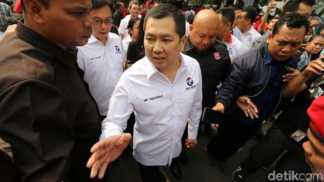 Perindo Bantah Mobil Hummer Hary Tanoe Pemicu Ribut PDIP di KPU