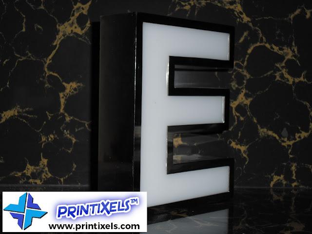 Built-Up Acrylic Letter