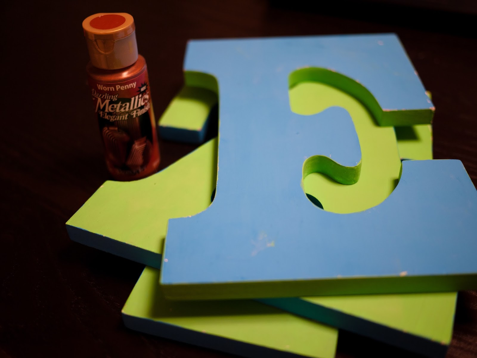 sprinkledwithcolor: PENNY LETTERS FOR THE KITCHEN