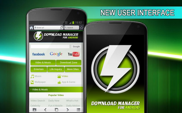 Aplikasi download manager for android