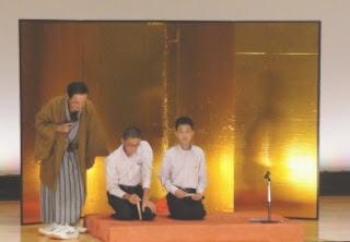 学校で芸術鑑賞会、落語に学ぶ想像力とコミュニケーション:講師 三遊亭楽春