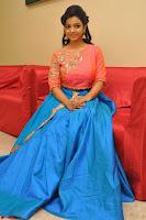 Nithya Shetty in Orange Choli at Kalamandir Foundation 7th anniversary Celebrations ~  Actress Galleries 093.JPG