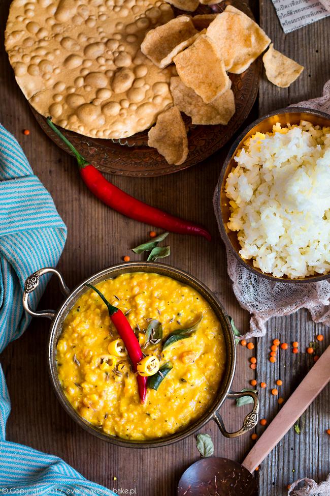 dhal - curry z soczewicy ze Sri Lanki