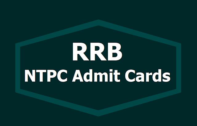 RRB NTPC Admit Card 2019, Exam dates