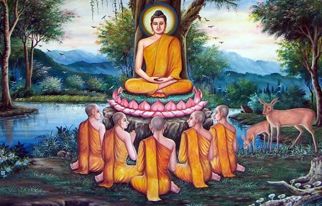 5 đệ tử đầu tiên - Cung thỉnh Đức Phật truyền bá Giáo Pháp- ĐỨC PHẬT và PHẬT PHÁP - Đạo Phật Nguyên Thủy (Đạo Bụt Nguyên Thủy)
