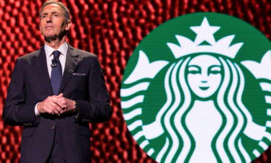 Starbucks' Howard Schultz is stepping down amid rumors of a presidential run