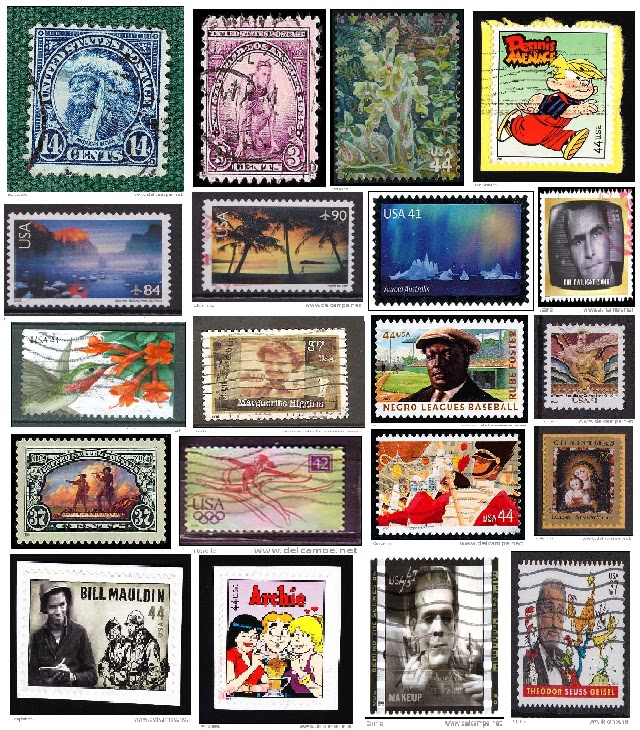 thematic waterfalls stamp collection « Just another thematic stamp ...