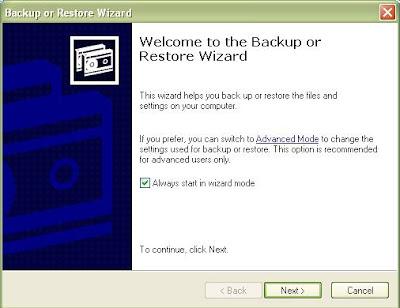 Mempunyai komputer berbasis Windows berarti juga harus tahu cara  Cara Backup Data Komputer Windows XP, 7 (Praktis Tanpa Ribet)