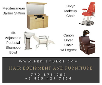 Hair Equipment and Furniture from www.pedisource.com