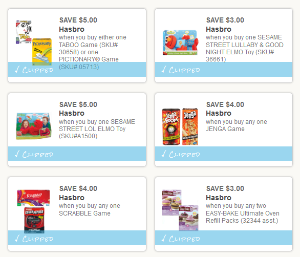 image about Hasbro Printable Coupon named Intense Couponing Mommy: 6 Sizzling Toy Recreation Printable