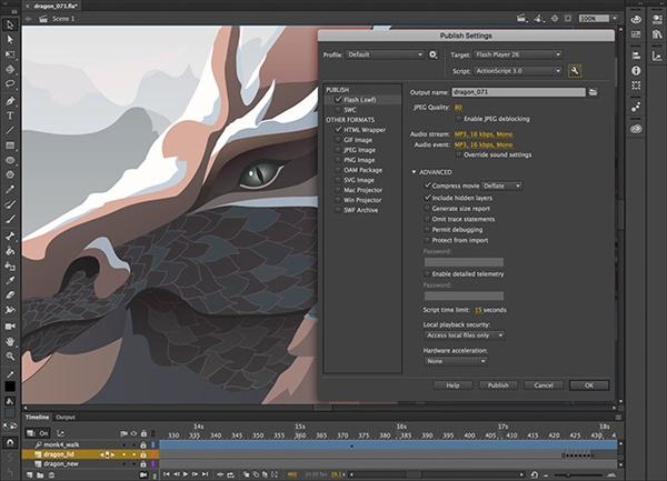 Adobe Animate CC 2019 Versión 19.2.1.408 Full Español