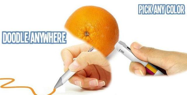 قلم ذكي بحبر خاص يمكنه بالرسم بأي لون في العالم!