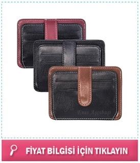 deri cüzdan isim yazılı