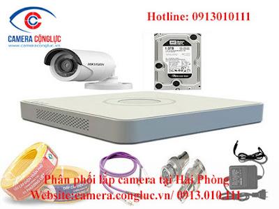 Trọn bộ hệ thống camera giám sát Hikvision do Camera Cộng Lực cung cấp và lắp đặt. Với độ bền cao, chất lượng tốt, giá cả hợp lý nên đây là dòng thương hiệu được rất nhiều khách hàng lựa chọn lắp đặt.