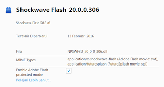 Adobe Flash Player Terbaru 2016