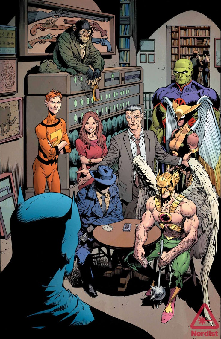Ralph Dibny The World Famous Elongated Man The Guild Of