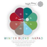 Winter Blend Ink Pad