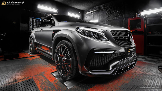 AMG, Mercedes, Mercedes AMG, Mercedes GLE Coupe, Mercedes Videos, TopCar, Tuning, Video, Vossen