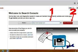 Cara Memasang Google Webmaster Ke Blog di Blogspot