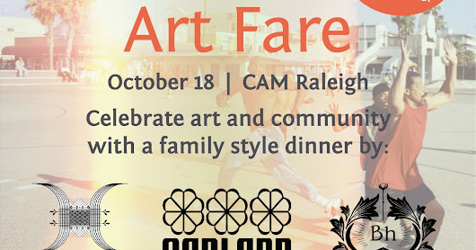 WALTER MAGAZINE - Art Fare Family Style Dinner at CAM - OCT 18