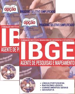 Apostila Concurso IBGE 2016 para Agente de Pesquisas e Mapeamento 2016