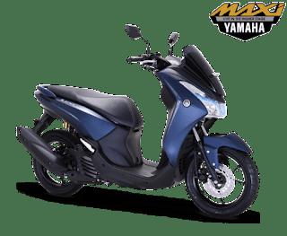 Pilihan Warna Yamaha Lexi S Blue