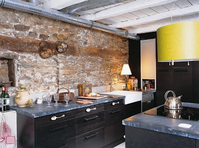 Boiserie c m lange di recupero per una cucina for Cuisine maison france 5