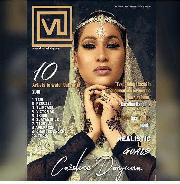 Actress, Caroline Danjuma Covers The VL Magazine Latest