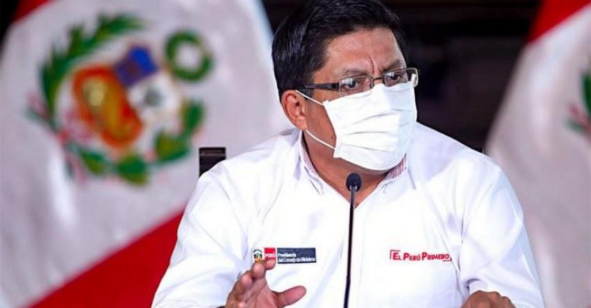 FASE 4: Economía operará al 100% en agosto con inicio de la reanudación de actividades económicas, informó el Presidente del Consejo de Ministros, Vicente Zeballos