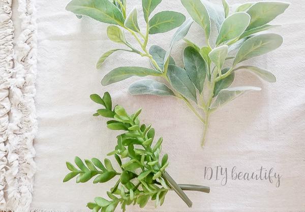trim greenery