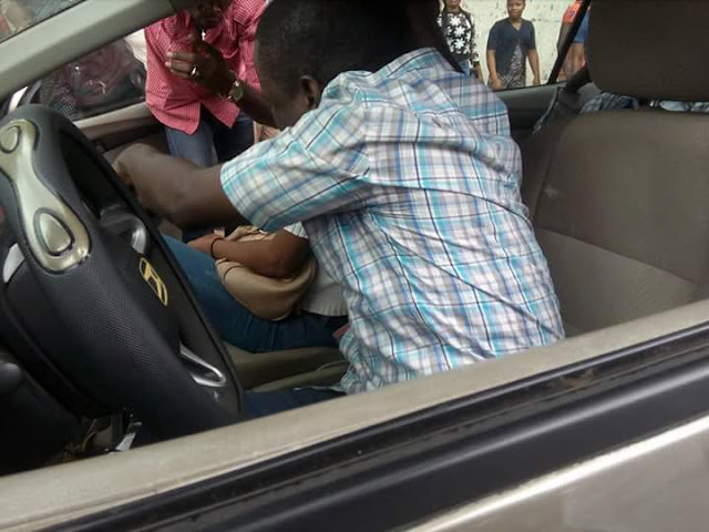 AKSU Student Disgraced At UNIUYO Main Gate Over S*X Scandal [TRENDING NOW]