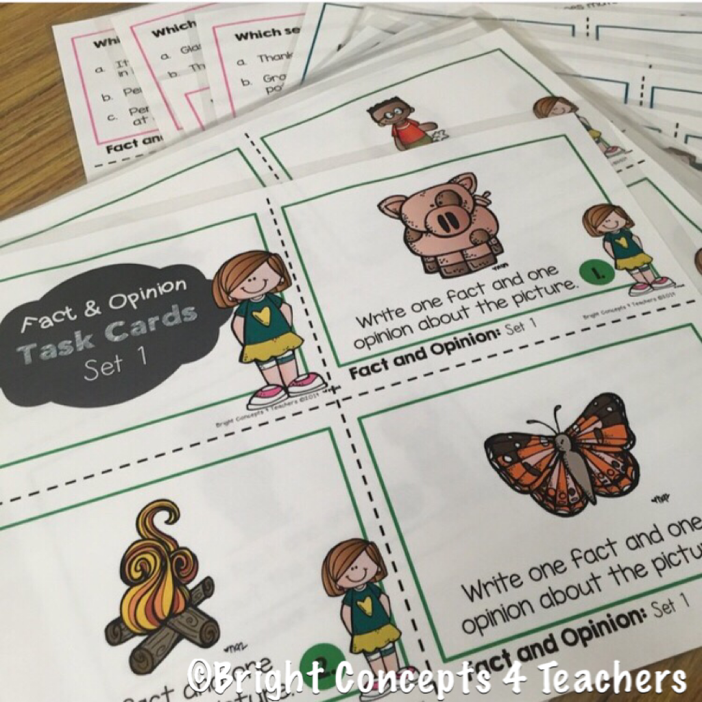 Differentiating Instruction With Task Cards