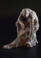 edith_lafay_sculpture_esquisse_rapide_homme_penché
