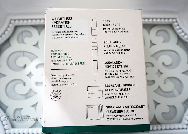 Biossance Weightless Hydration Essentials | bellanoirbeauty.com