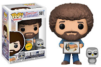 Funko Pop! Bob Ross With Hoot CHASE